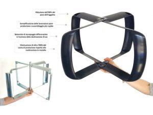 Costruzione stampi a iniezione per eliche per stratificatori-miscelatori d'aria